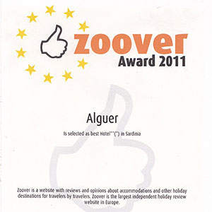 Prizes and awards: Zoover Award 2011
