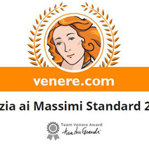 Prizes and awards: Venere.com Pulizia ai Massimi Standard 2013