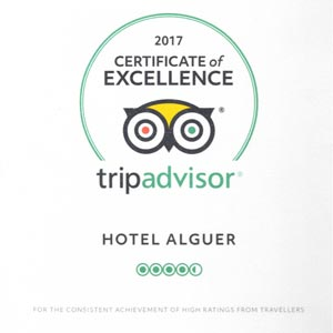 Prizes and awards: Tripadvisor Certificate of Excellence 2017