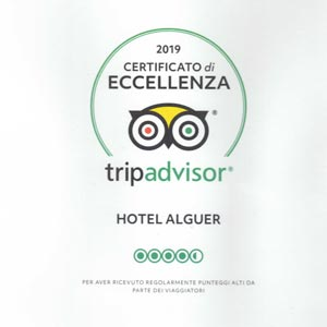Prizes and awards: Tripadvisor Certificate of Excellence 2019