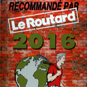 Prizes and awards: Le Routard 2016