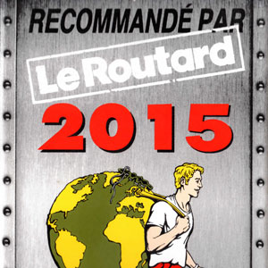 Prizes and awards: Le Routard 2015