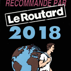 Prizes and awards: Le Routard 2018