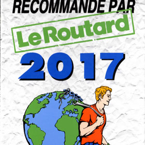 Prizes and awards: Le Routard 2017