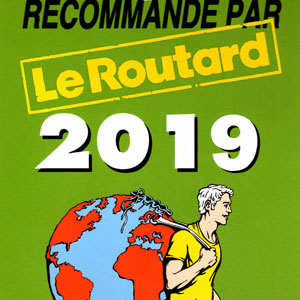 Prizes and awards: Le Routard 2019